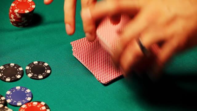 HD: Shuffling cards