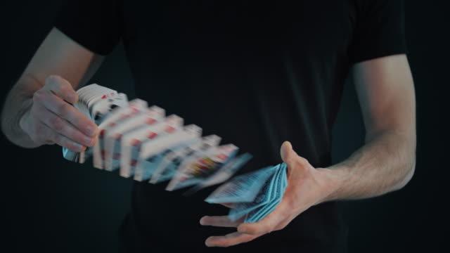 Shufflingperforming Karte s