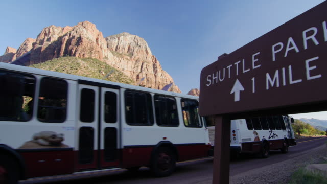 Shuttle parking and shuttle