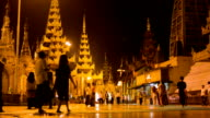 Shwedagon pagoda Myanmar.