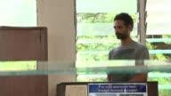 Arthur SimpsonKent admits to murders T12011633 / TX GHANA Accra EXT Various shots of Arthur SimpsonKent in court