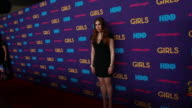 WS Zosia Mamet posing for paparazzi on the red carpet at Jazz at Lincoln Center