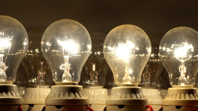 ZO, side view, Light Bulb on and off , dark become light