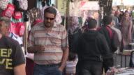 Sidewalk Shoppers, Hebron, Palestine