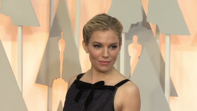 Sienna Miller at 87th Annual Academy Awards Arrivals at Dolby Theatre on February 22 2015 in Hollywood California