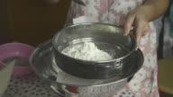 Sieve and Measure Flour