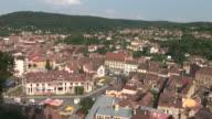 SighisoaraLong view of Sighisoara Transylvania Romania