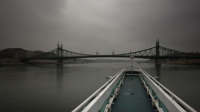 Sightseeing from the river Danube