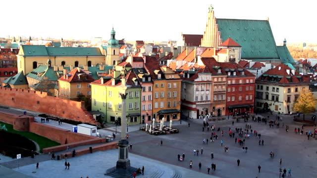 Sigismund's Column, Old Town, Warsaw Poland
