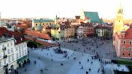 Sigismund's Column, den Old Town, Warschau, Polen
