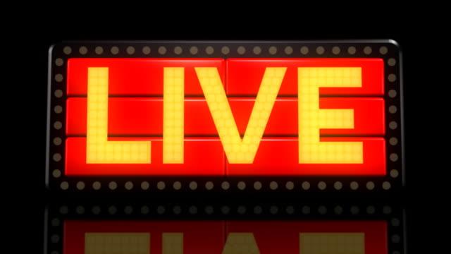 Sign 02 Live flashing bill board