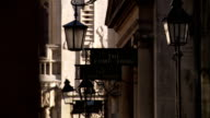 Sign for The Pump Room, Bath Available in HD.