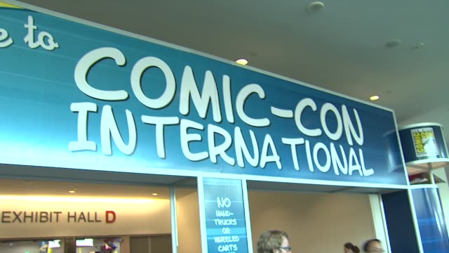signage At 2011 San Diego ComicCon International at San Diego CA