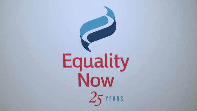 ATMOSPHERE signage at 2017 Equality Now Gala at Gotham Hall on October 30 2017 in New York City