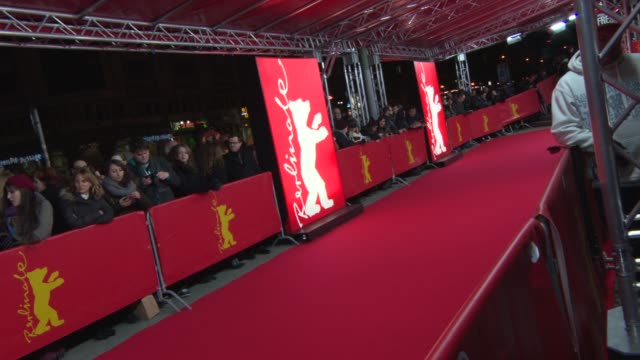 ATMOSPHERE Signage at 'A Long Way Down' Red Carpet at FriedrichstadtPalast on February 10 2014 in Berlin Germany