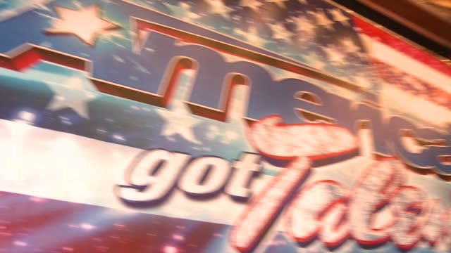 ATMOSPHERE signage at 'America's Got Talent' Red Carpet ATMOSPHERE signage at 'America's Got Talent' Red at the Pantages Theatre on April 24 2013 in...