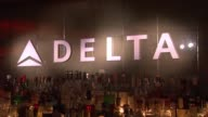 ATMOSPHERE Signage at Delta Air Lines Kicks Off Grammy Weekend With Private Performance By Grammy Nominated Artist Charli XCX And DJ Set By Questlove...