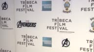 signage at 'Marvel's The Avengers' Premiere 2012 Tribeca Film Festival Closing Night on 4/28/2012 in New York NY United States