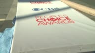 Signage at People's Choice Awards 2012 Rehearsals in Los Angeles CA on 1/10/12