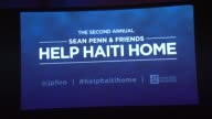 Signage at Sean Penn Friends HELP HAITI HOME A Gala to Benefit J/P Haitian Relief Organization Presented by Giorgio Armani on 1/12/13 in Los Angeles...