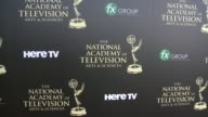ATMOSPHERE signage at the 2014 Daytime Emmy Awards at The Beverly Hilton Hotel on June 22 2014 in Beverly Hills California