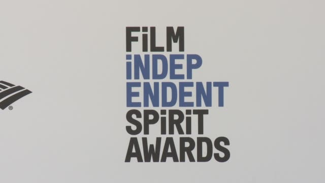 ATMOSPHERE signage at the 2016 Film Independent Spirit Awards Arrivals on February 27 2016 in Santa Monica California