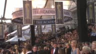Signage at the 83rd Annual Academy Awards Arrivals Pool Cam at Hollywood CA