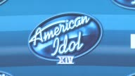 ATMOSPHERE signage at the 'American Idol' XIV Grand Finale Arrivals at Dolby Theatre on May 13 2015 in Hollywood California