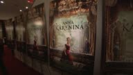 signage at the 'Anna Karenina' Special Screening in New York NY on 11/7/12