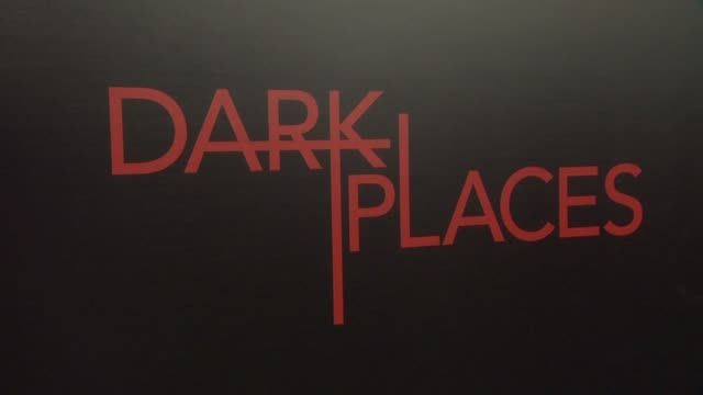 ATMOSPHERE signage at the 'Dark Places' Los Angeles Premiere at Harmony Gold Theatre on July 21 2015 in Los Angeles California
