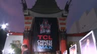 ATMOSPHERE signage at the 'Jupiter Ascending' Los Angeles Premiere at TCL Chinese Theatre on February 02 2015 in Hollywood California