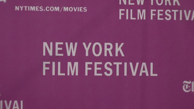 Signage at the New York Film Festival 'The Darjeeling Limited' Premiere Opening Night at Film Society of Lincoln Center in New York New York on...