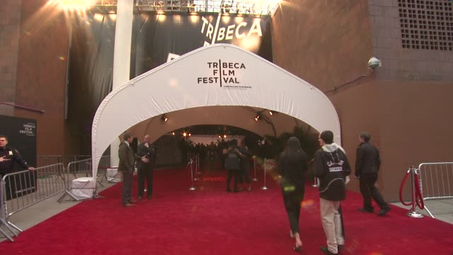 signage at Tribeca/ESPN Sports Film Festival Gala Benji 2012 Tribeca Film Festival at BMCC Tribeca PAC on April 20 2012 in New York New York