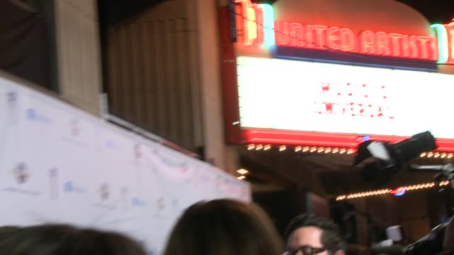 ATMOSPHERE Signage at Universal Music Group 2014 Post Grammy Party at The Ace Hotel Theater on in Los Angeles California