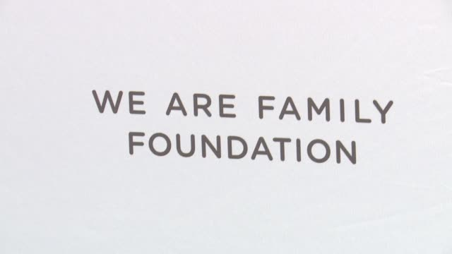 ATMOSPHERE signage at We Are Family Foundation 2016 Celebration Gala at Hammerstein Ballroom on April 29 2016 in New York City