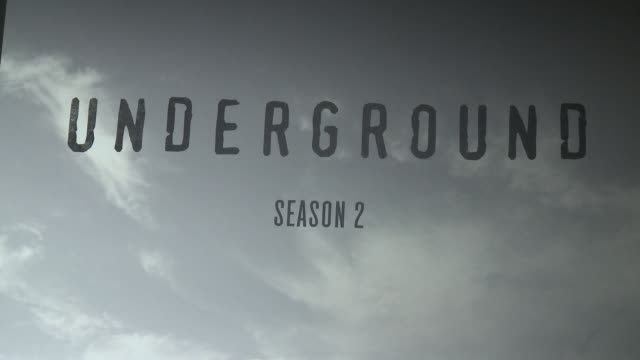 ATMOSPHERE signage at WGN America And John Legend Celebrate Season Two Of The Hit Series 'Underground' At 2017 Sundance Film Festival on January 21...