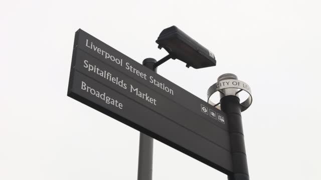 CU Signboard in city of London / London, Greater London, UK