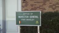 MS ZO ZI Signboard office of  inspector general