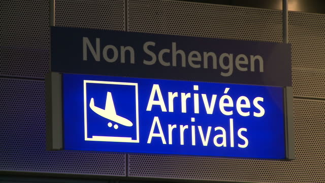 CU Signboards at airport / Airport Luxembourg-Findel, Luxembourg