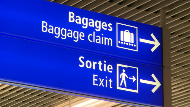 MS ZO Signboards at airport / Airport Luxembourg-Findel, Luxembourg