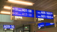 MS Signboards at airport / Airport Luxembourg-Findel, Luxembourg