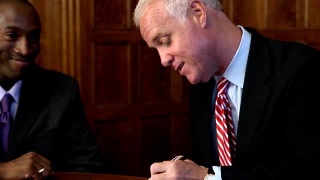 Signing an Agreement - varA CU