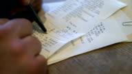 Signing Credit Card Slip