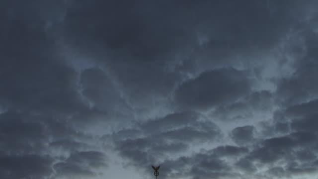 MS, TD, Silhouette of Brandenburg Gate against dusky sky, Berlin, Germany