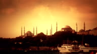 Silhouette of Istanbul