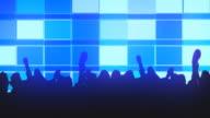 CGI, Silhouettes people dancing