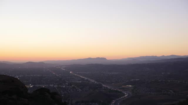 Simi Tal Kalifornien Sonnenuntergang Timelapse 4 K