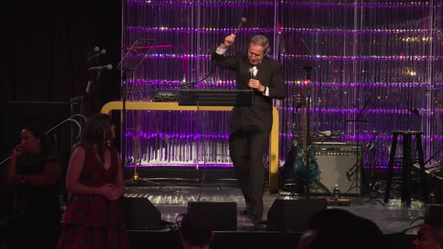 SPEECH Simon de Pury at Angel Ball 2017 at Cipriani Wall Street on October 23 2017 in New York City