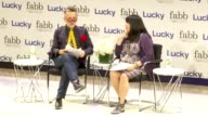 Simon Doonan and Anna Sui at Lucky Magazine Hosts FABB Fashion And Beauty Blog Conference Presented By PG Beauty Grooming in New York 09/05/12