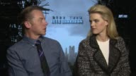 INTERVIEW Simon Pegg Alice Eve on working together welcoming the new cast on the set at 'Star Trek Into Darkness' UK Junket Interviews at Corinthia...